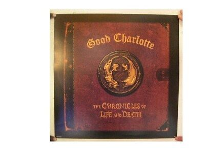 Good Charlotte Poster  The Chronicles Of Life And Death
