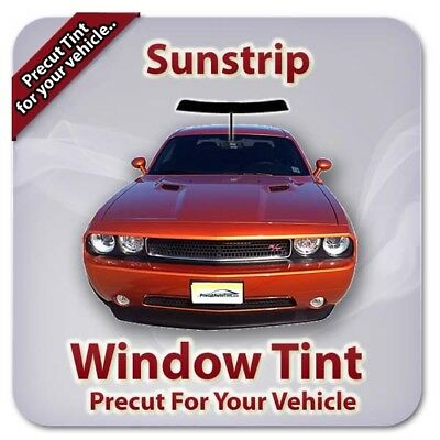 Precut Window Tint For Ford F-250 Extended Cab 1990-1996 (Sunstrip)