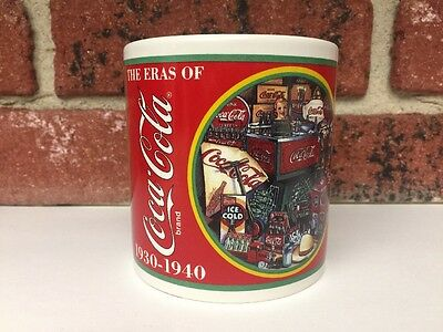 Eras of Coca-Cola Collectors Edition Mug 1930-1940 Enesco 1996 Coke Chicago Fair