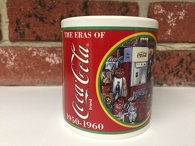 Eras of Coca-Cola Collectors Edition Mug 1950-1960 Enesco 1996 Item 267163 Coke