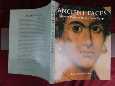 ANCIENT FACES: MUMMY PORTRAITS from ROMAN EGYPT by SUSAN WALKER/BIG/SCARCE 1997