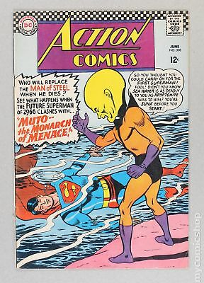 Action Comics (DC) #338 1966 VG- 3.5 Low Grade