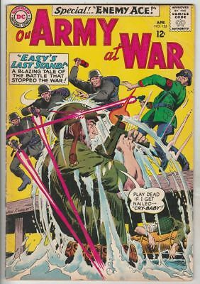 Our Army at War # 153 Strict FN/VF+ Appearance 2nd Enemy Ace Artist Joe Kubert