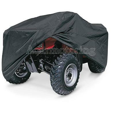 XL New Universal Black Quad Bike ATV ATC Rain WaterProof Cover For Honda Yamaha