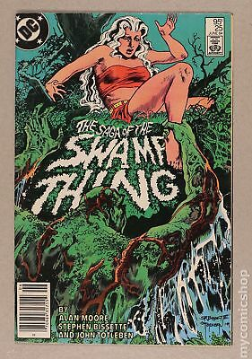 Swamp Thing (2nd Series) Canadian Price Variant #25 1984 VG 4.0