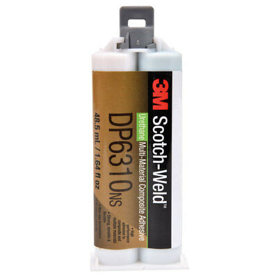 3M™ Scotch-Weld™ Composite Urethane Adhesive DP6310NS Green 48.5ml Duo-Pak