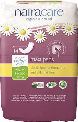 Natracare - Regular Maxi Pads - 14 count