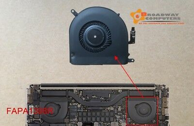 "RIGHT CPU Cooling Fan for MacBook Pro 15"" Retina A1398 2012-2015"