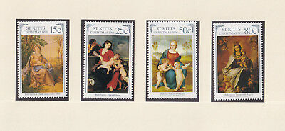 (21758) St Kitts MNH Christmas 1996 unmounted mint