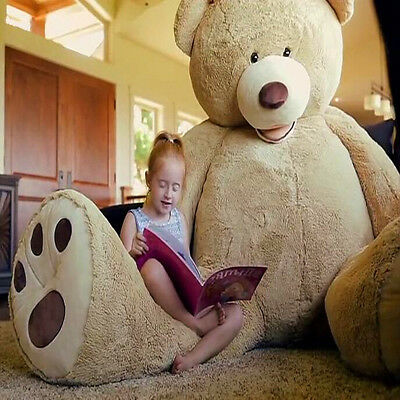 160cm Teddy Bear Plush Baby Soft Toys Doll Stuffed Animal Gift Only Outer Shell