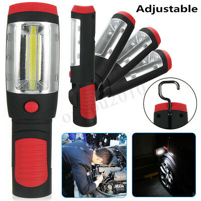 COB LED Work Light USB Rechargeable Magnetic Inspection Hand Torch Lamp Pen