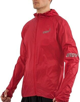 Running Inov8 Windproof Windshell Zip Full Mens Hooded Red Atc 60AxqwRg