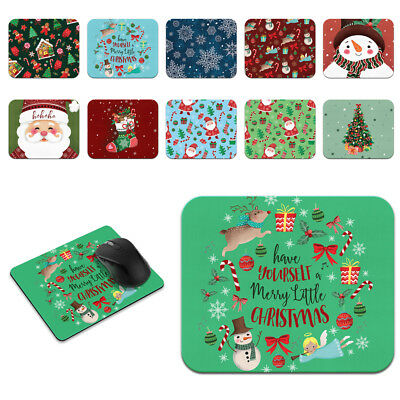 Christmas Special Rectangle Soft Mouse Pad Non-Slip Rubber For Office Desk Mouse