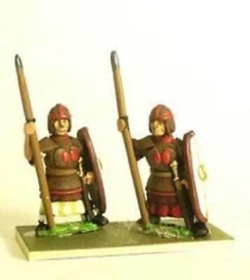 Essex Ancient Chinese Dynasties  Infantry in Leather Armor w/Spear -  Pack MINT