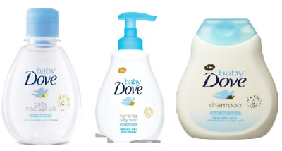 DOVE Baby Care Combo Pack - a Complete Skin Care Range for your Baby