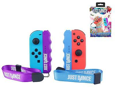Just Dance 2019 2x Grip & Strap Kit - Nintendo Switch - NEW - FAST/FREE UK P&P !