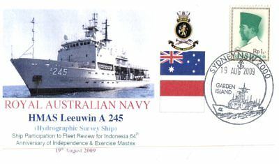 (C7) Naval cover - HMAS Leeuwin A 245 visit to Indonesia in 2009
