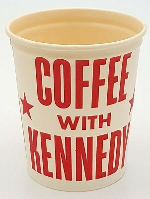 1960 John F Kennedy Coffee With Kennedy Collectible Cup