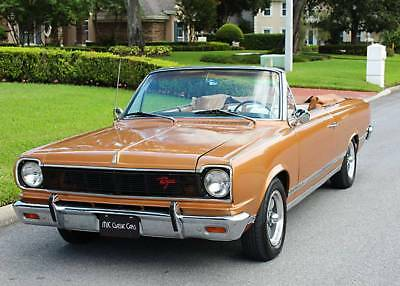 1967 AMC ROGUE CONVERTIBLE - ONE OF 921 - 85K MI ONE OF 921 BUILT - 1967 Rambler Rogue Convertible - 85K MI