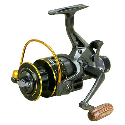10+1 Ball Bearings Spinning Fishing Reel Dual Brake System Spool Left/Right R5Q2