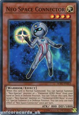 SOFU-ENSE3 Neo Space Connector Super Rare Limited Edition Mint YuGiOh Card