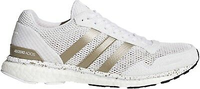 free shipping aae42 80be8 adidas Adizero Adios 3 Boost Womens Running Shoes - White