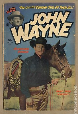 John Wayne Adventure Comics #11 1951 GD+ 2.5