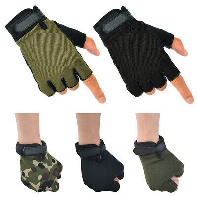 Mens Womens Cycling Gloves Bike Half Finger/Full Finger Bicycle Outdoor Sport UK