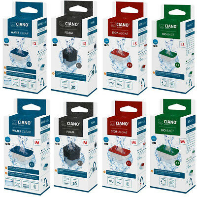 Ciano Replacement Filter Foams/Cartridges