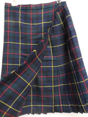 Highland Homes Industries Orig. schottischer Kilt Rock Damen Gr. 22 dt. 44 46
