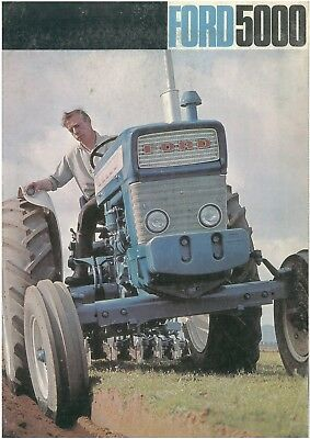 Ford 5000 Tractor Brochure
