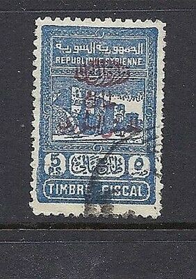 SYRIA 1945 POSTAL TAX Scott RA5 VF USED