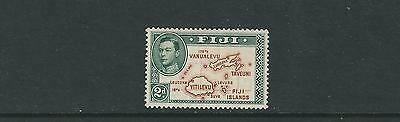 FIJI 1938-55 KGVI MAP without 180 degrees (Scott 120 2d) VF MH
