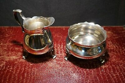Sterling by Poole | Cream and Sugar Bowl #115