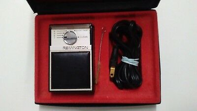 Vintage Remington Mark-III Electric Trimmer Shaver 2M3 w/ Case Cord Tested Works