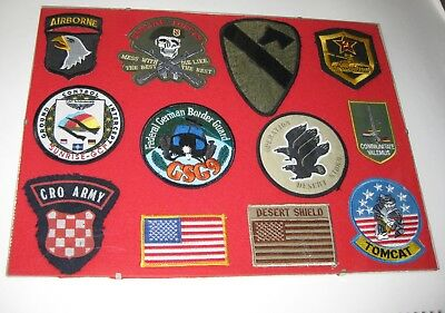 U.S. ARMY Patch AIRBORNE Cro Army Special Forces usw. ORIGINAL Sammlung