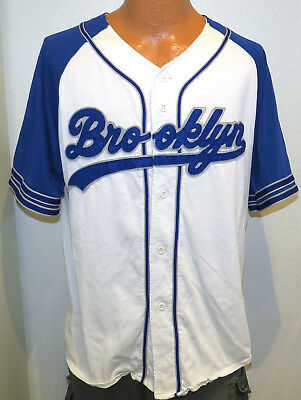 c768ca45c vtg BROOKLYN DODGERS Starter Jersey LARGE 90s mlb throwback la los angeles  rare