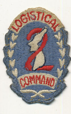 2nd Logistical Command patch 1st type theater made very nice Korean War era