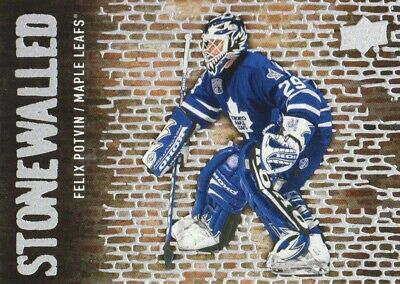 2018-19 Upper Deck Stonewalled #SW-43 Felix Potvin Toronto Maple Leafs