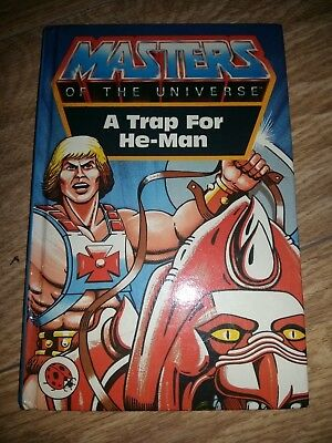 Ladybird Book - Masters of the Universe - A Trap for He-Man - 1st