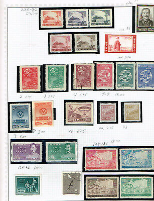 People's Republic of China Extras Set 1 from Big 26 Vol Collection