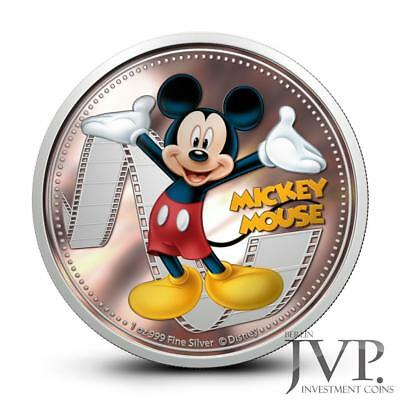 Niue 2014 $2 Disney Mickey & Friends 2014 Mickey Mouse 1 Oz Silver Proof Coin