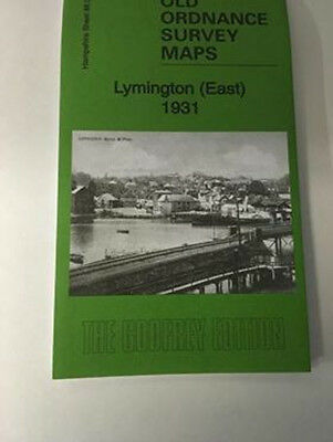 Old Ordnance Survey Map Lymington (East) 1931