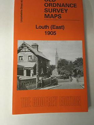 Old Ordnance Survey Map Louth (East) 1905