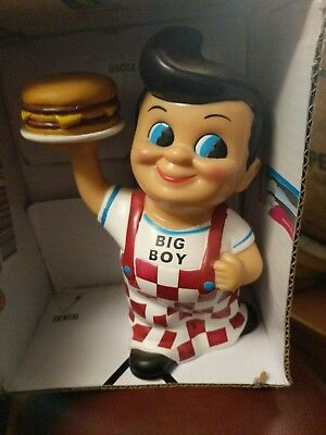 Vintage Big Boy Bank Elias brothers burger restaurant collectible burger bob