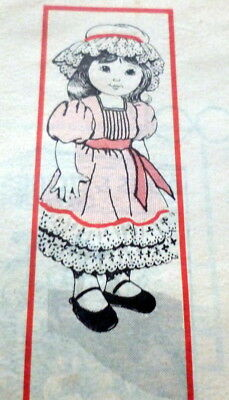 """Great Vtg 25"""" Doll & Clothing Sewing Pattern Uncut"""