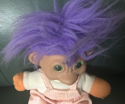 Troll Hansome With Purple Hair! - Large
