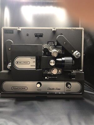 BELL & HOWELL Director Series. Super 8 Film / Movie Projector. Serviced & Tested