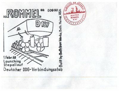 (E65) Naval cover - Germany (3 covers related to military / navy / helicopter)