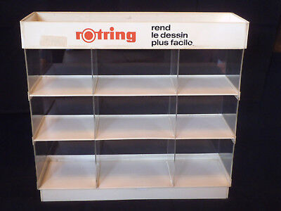 -------- Rotring ------- Pen Shop Display ------ Vintage 80's ---